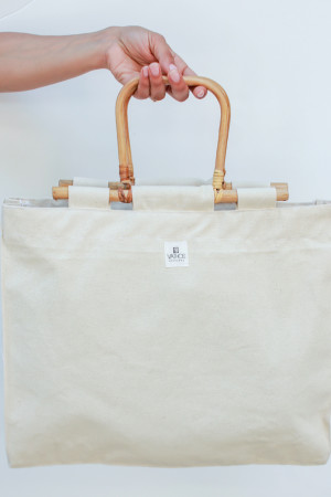 beach bag white 2